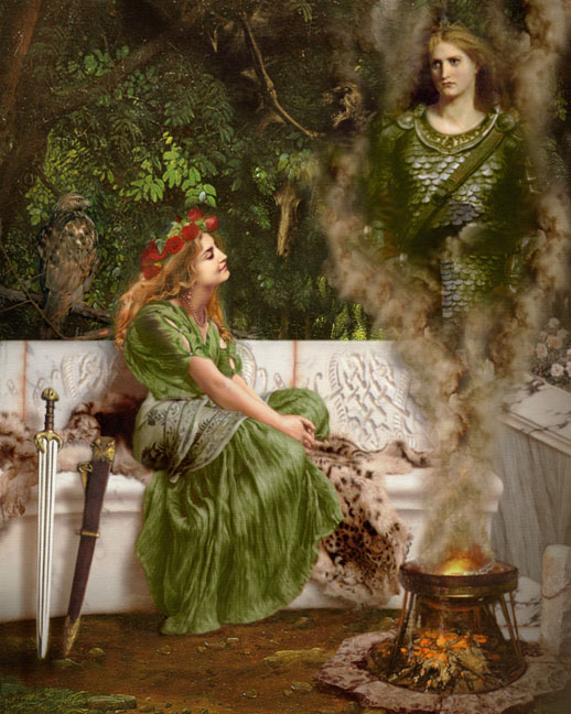 celtic myth queen boudica witch demon daemon summener