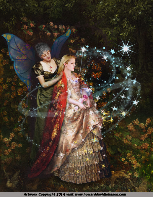 magical fairy god mother faerie guardian
