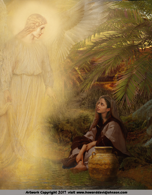 Angel Art And A Brief Introduction To Angelology New Pictures Of Angels By Howard David Johnson Featuring Oil Paintings Prismacolors And Digital Media