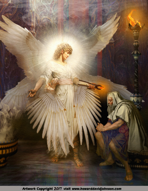 Angel Art and a brief introduction to Angelology