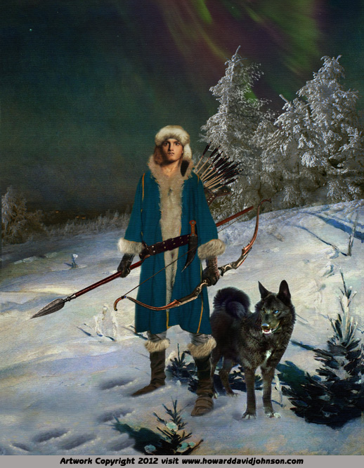 fantasy art russian legend