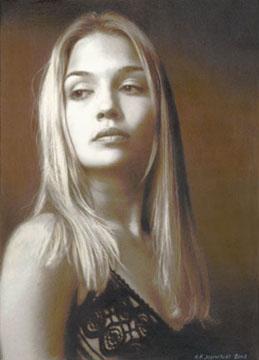 Off Loading Teen Woman Portrait 86