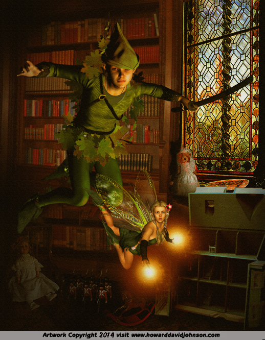 peter pan tinker bell magic