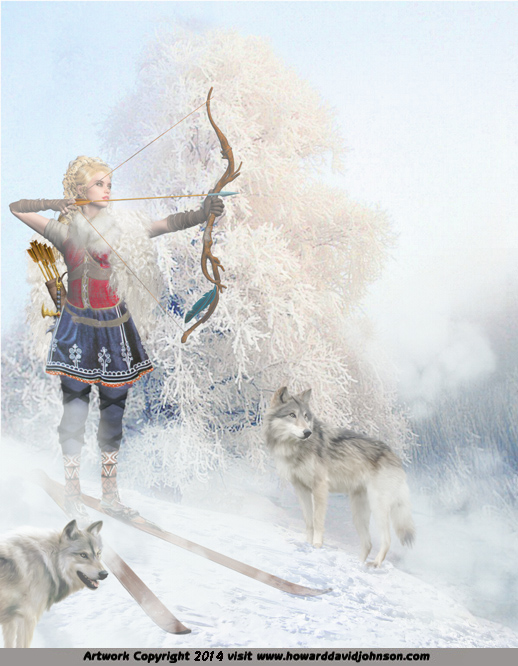 nordic goddess of the hunt