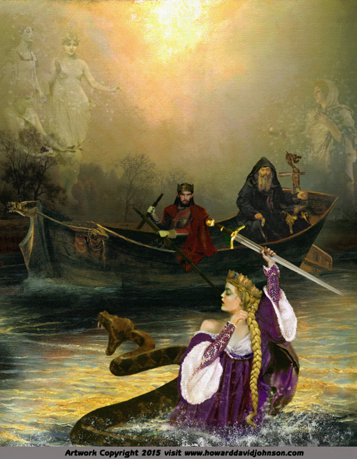 King Arthur The Knights Of The Round Table Paintings Of The