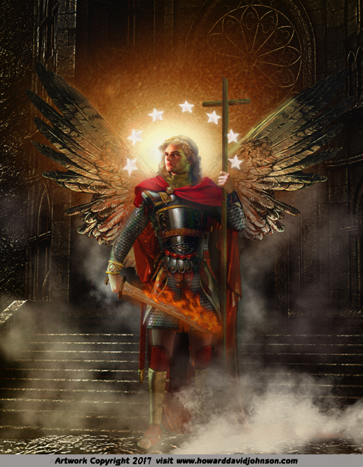 The Angel of the Church at Philadelphia (Book of Revelation Guardian angel)