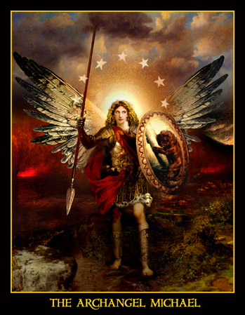 archangel michael picture warrior