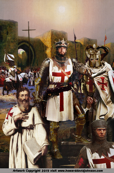 king richard painitng crusade templar