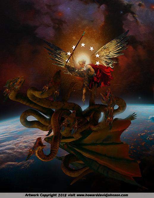 Fire Guardian Fantasy Art