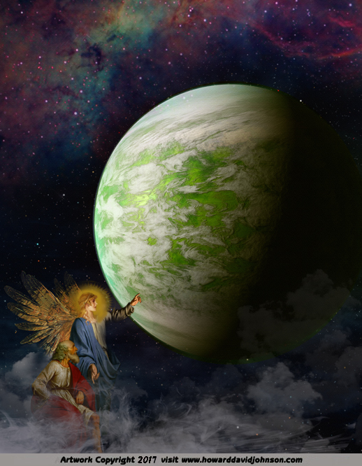 The New Heaven and the New Earth (The angel shows John the new Heaven and the new Earth)