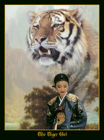~The Tiger Girl ...detail.jpg (47147 bytes)